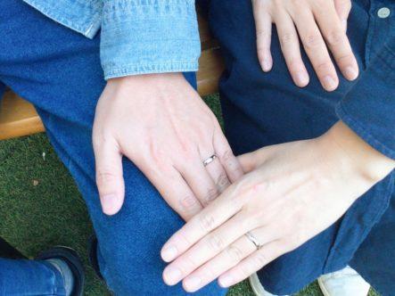 フィッシャーの結婚指輪をご成約頂きました。(堺市西区)