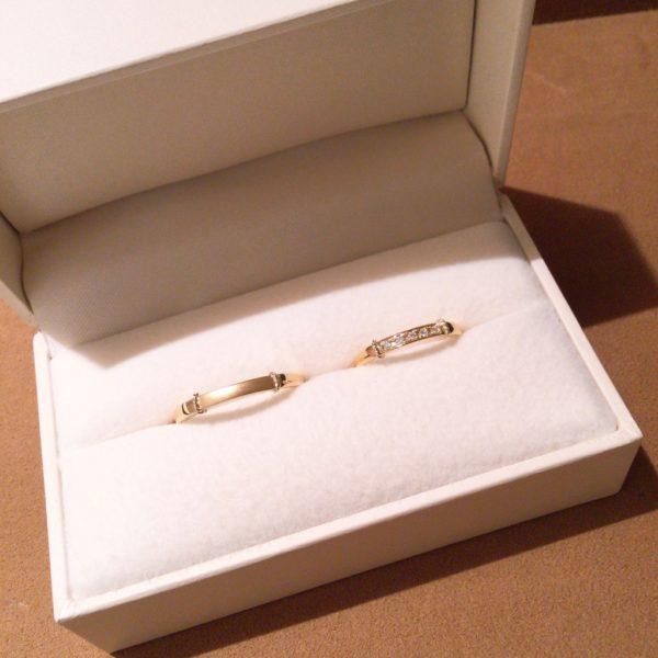 ロゼットの結婚指輪(岸和田市)
