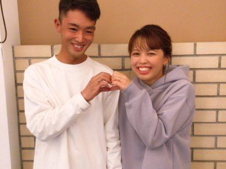 ロゼットの結婚指輪(和泉市)