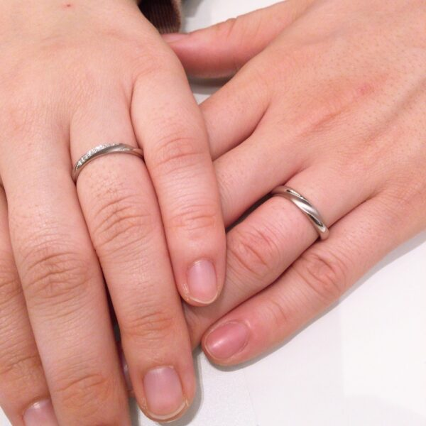 マリージュエントの結婚指輪をご成約頂きました。(泉南市・岸和田市)