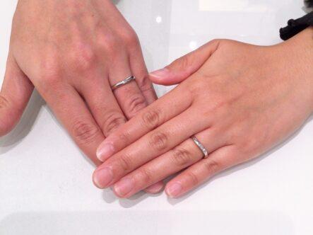 エトルの結婚指輪をご成約頂きました。(和歌山県)