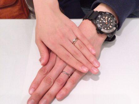 ソウの結婚指輪をご成約頂きました。(和歌山県)