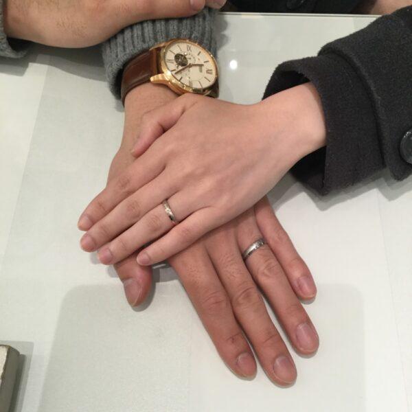 フィッシャー×ガーデンの結婚指輪をご成約頂きました。(兵庫県・貝塚市)
