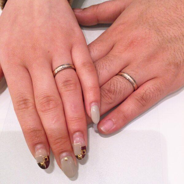 フィッシャーの結婚指輪をご成約頂きました。(泉佐野市)