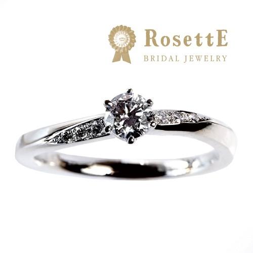 ロゼット 婚約指輪 サプライズ