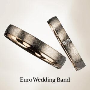 Euro Wedding Band K18の価格でPt950へグレードUP!!~5/10まで