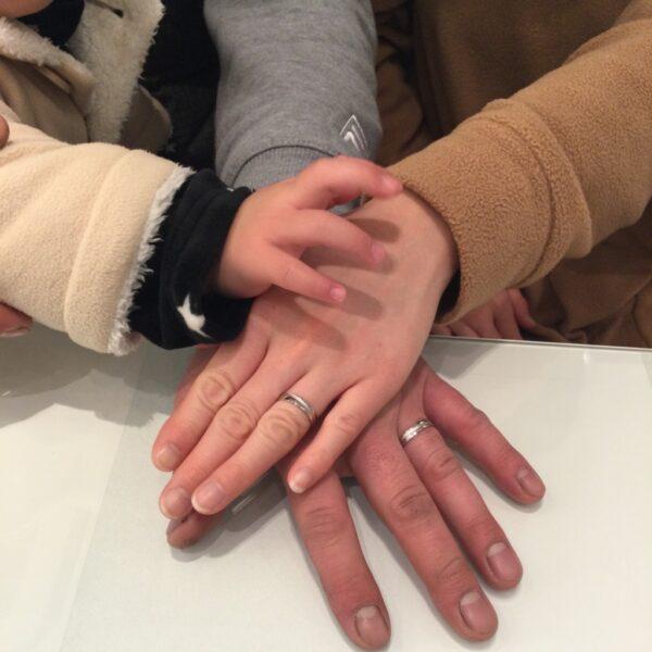 プリートの結婚指輪をご成約頂きました。(大阪府岸和田市)