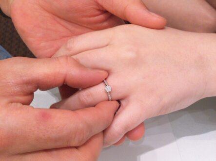 gardenオリジナル婚約指輪をご成約頂きました。(和歌山県日高郡)