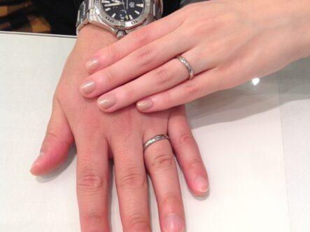 FISCHER(フィッシャー)の結婚指輪をご成約頂きました。(大阪府岸和田市)
