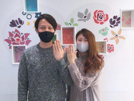 FISCHERフィッシャーの結婚指輪をご成約頂きました。(大阪府堺市中区)