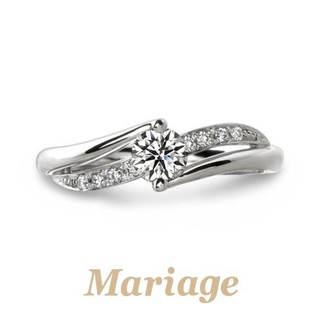 和歌山人気婚約指輪デザイン1