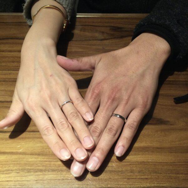 フィッシャーの結婚指輪をご成約頂きました。(大阪府和泉市)