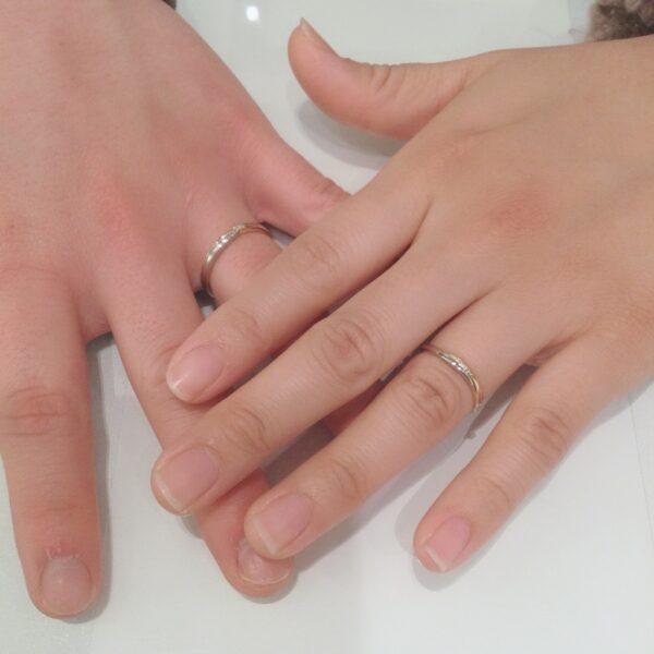 アムールアミュレットの結婚指輪をご成約頂きました。(大阪府八尾市 兵庫県伊丹市)