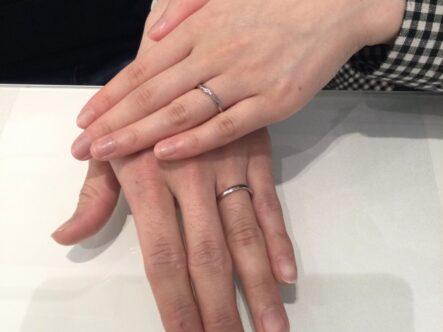 マリアージュエントの結婚指輪をご成約頂きました。(和歌山県有田市 大阪府和泉市)