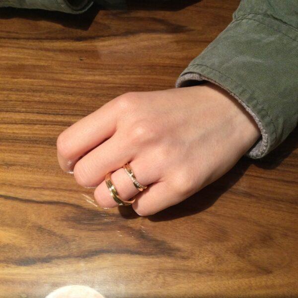 ソナーレの結婚指輪をご成約頂きました。(大阪府泉北郡忠岡町)