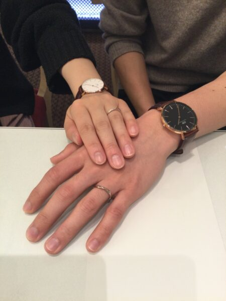 Sonareの結婚指輪をお選びいただきました(大阪府泉大津市)