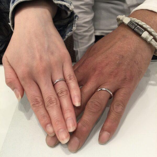 ディズニーシンデレラの結婚指輪をご成約頂きました(兵庫県宝塚市)