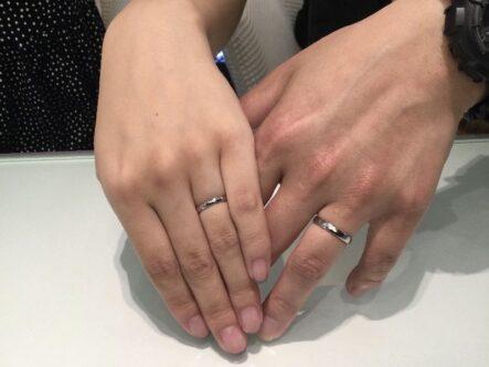 フィッシャーの結婚指輪をご成約頂きました(堺市西区)