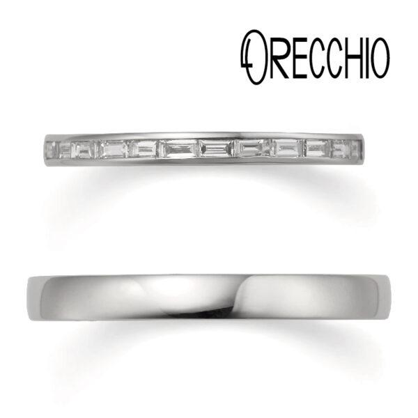 ORECCHIOの結婚指輪エタニティ
