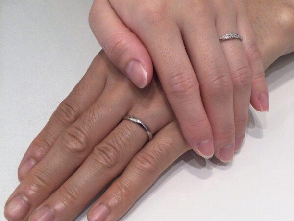 ラパージュの結婚指輪をご成約頂きました(大阪府堺市)
