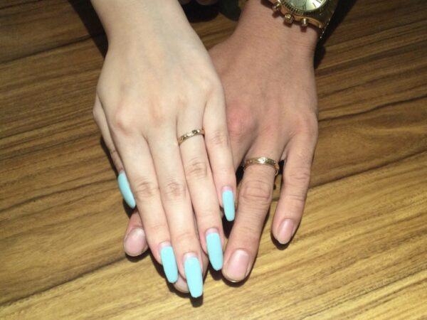マカナの結婚指輪をご成約頂きました(大阪府泉大津市)
