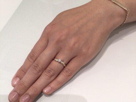 ヴィヴァージュの婚約指輪をご成約頂きました(大阪府堺市南区)