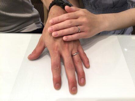 ミルク&ストロベリーの結婚指輪をご成約頂きました(大阪府岸和田市 和歌山市)