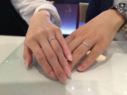プリートの結婚指輪をご成約頂きました(大阪府堺市)