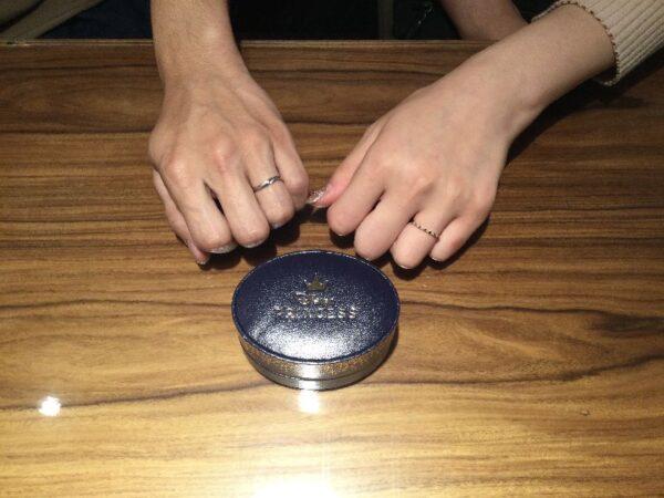 ラプンツェルとジョワイユの結婚指輪をご成約頂きました