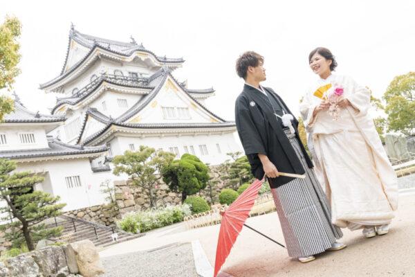 秋のフォトウェディングフェア岸和田城イメージ