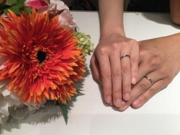 ラパージュとフィッシャーの結婚指輪をご成約頂きました(大阪府堺市 高槻市)