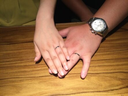 イロノハの結婚指輪をご成約頂きました(大阪府堺市中区)